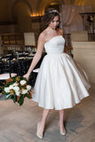 The Manhattan - Dolly Couture Bridal - vintage inspired tea length wedding dresses - customize
