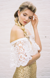 Coulante - capelet - Dolly Couture Bridal
