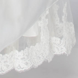 Lace Hem - Dolly Couture Bridal - vintage inspired tea length wedding dresses - customize