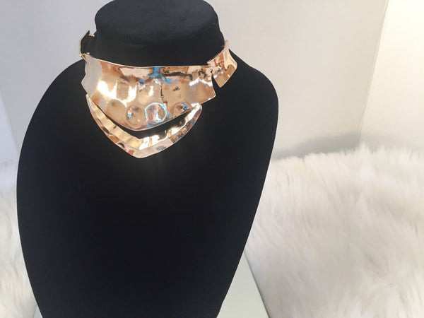 GOLD COLLAR CHOKER