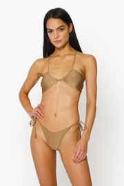 AYA TIE BOTTOM - GOLD