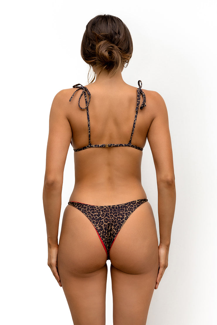 BRUNI BOTTOMS- LEOPARD