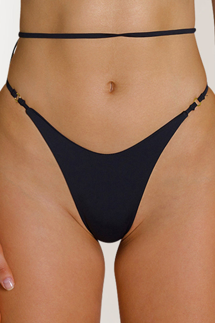 BRUNI BOTTOMS - BLACK