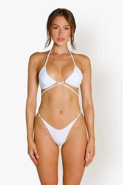 BRUNI BOTTOMS - WHITE