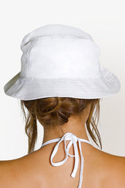 BRINKLEY BUCKET HAT - WHITE