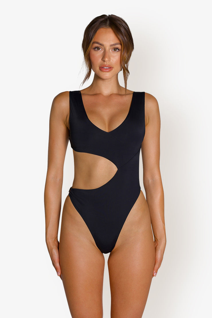 GISELE ONE PIECE - BLACK