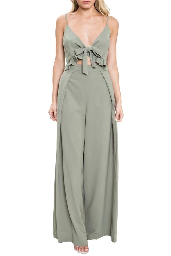 Cilou Jumpsuit - Masso Luxe