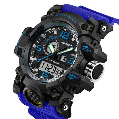 Men's G Style Digital Multifunction Watch. - Sixty Six Depot