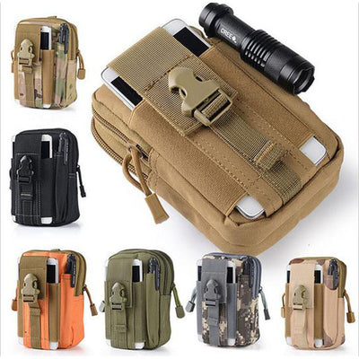 Waterproof D30 Tactical Waist Bag Men Army Military - Sixty Six Depot