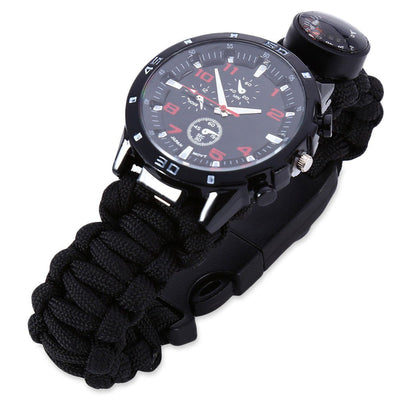 Multifunction Survival Paracord Bracelet Watch - Sixty Six Depot