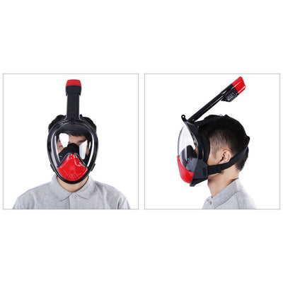 Full Face Diving Mask Snorkel Swimming Set. - Sixty Six Depot