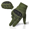 Full Finger Carbon Hard Knuckle Gloves. - Sixty Six Depot
