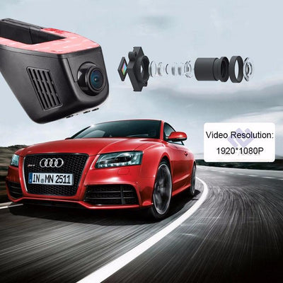 1080p Wifi Dvr Dash Cam - Sixty Six Depot