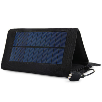 Foldable 7W Solar Charger for Backpacks - Sixty Six Depot