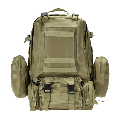 Large Military Style Hiking Backpack. - Sixty Six Depot