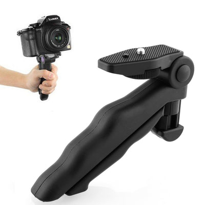 Flexible 2 in 1 Handheld Grip Mini Tripod Stand for Digital Camera. - Sixty Six Depot