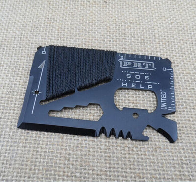 Credit Card 14 in 1 Mini Pocket Tool. - Sixty Six Depot