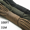 Paracord 5 Colors 100ft - Sixty Six Depot