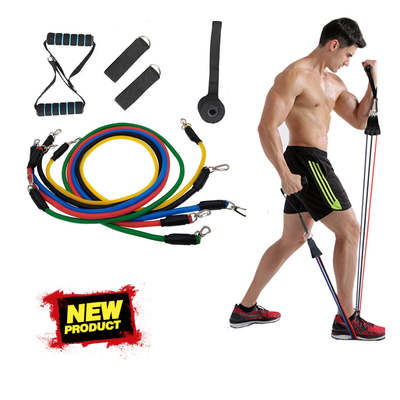 11 Pieces Resistance Bands Set Workout