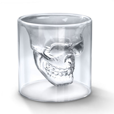Skull double wall coffee cup - Sixty Six Depot