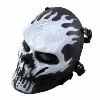 Full Face Ghost Mask 9 To Choose From. - Sixty Six Depot