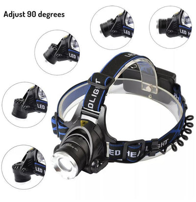 Rechargeable LED Headlight