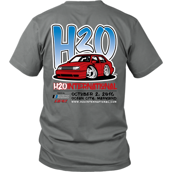 Official H2O International 2016 Event Shirt / Limited TIme