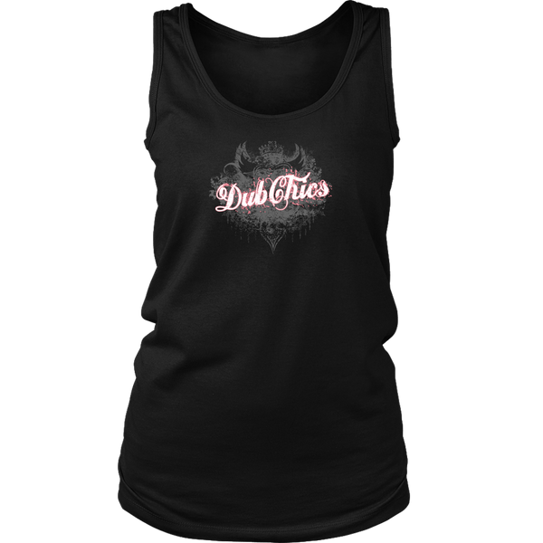 DubChics / Heart Crown Tank
