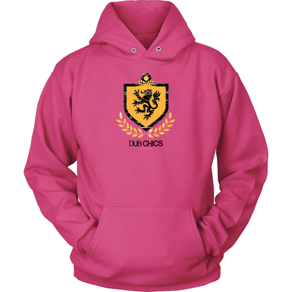 DubChics / Lion Coat of Arms Hoodie
