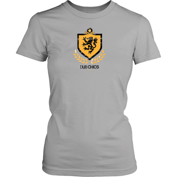 DubChics / Lion Coat of Arms Tee