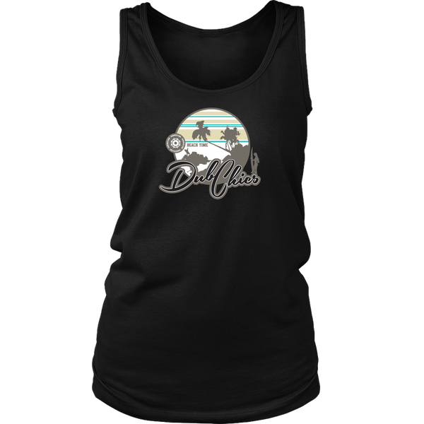 DubChics / Surf Sunset Tank