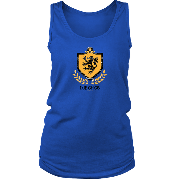 DubChics / Lion Coat of Arms Tank