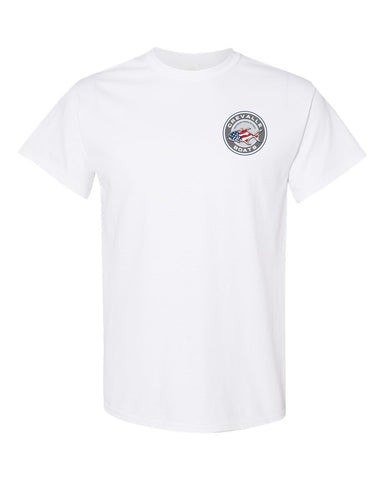 NEW! Unisex Short Sleeve Crevalle Circle Logo T-shirt