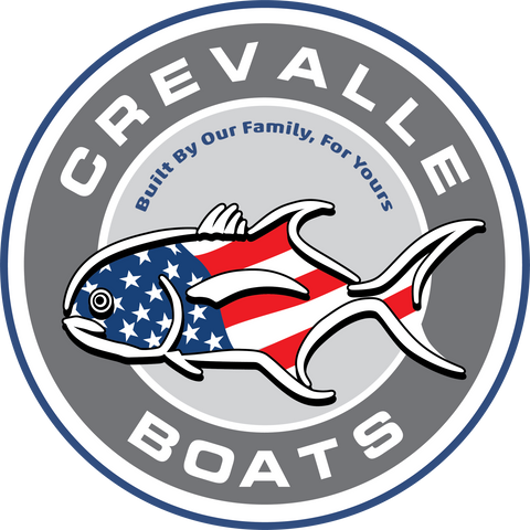 NEW!! Crevalle Circle Logo Sticker