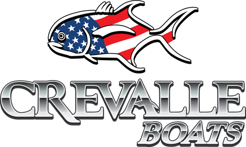 Crevalle Small Logo Stickers