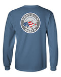 NEW!! Crevalle Boats Circle Logo Long Sleeve T-Shirt