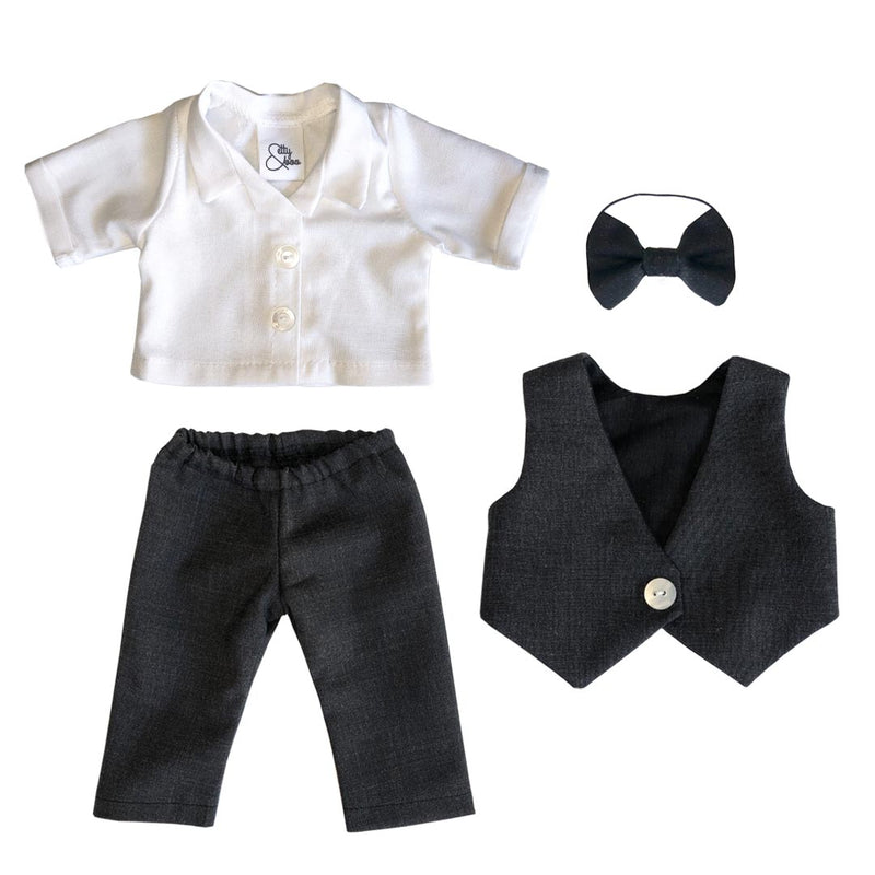 Charcoal Groom set