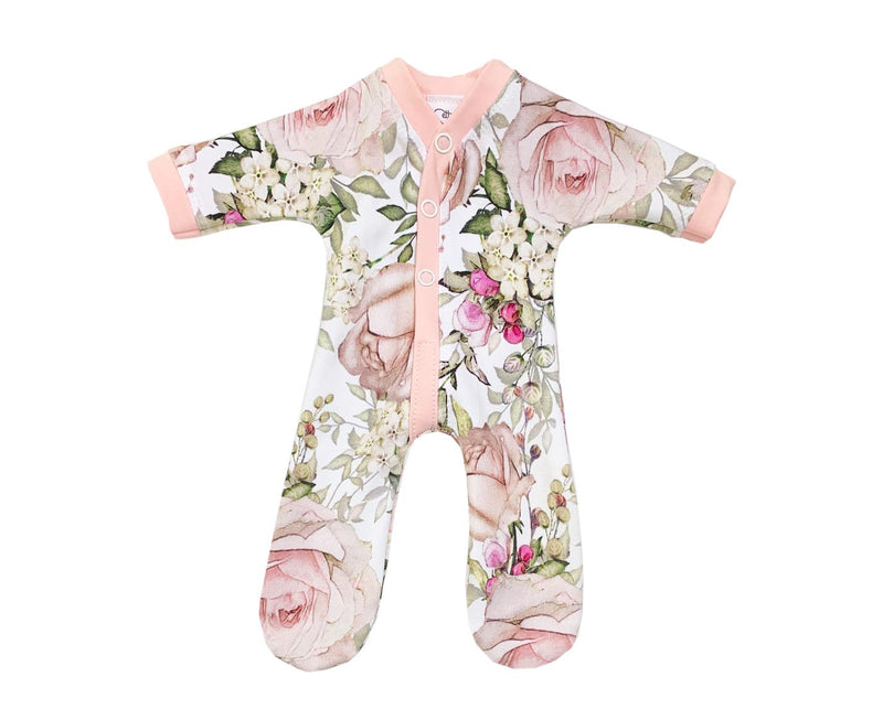 Secret Garden Pink Sleepsuit
