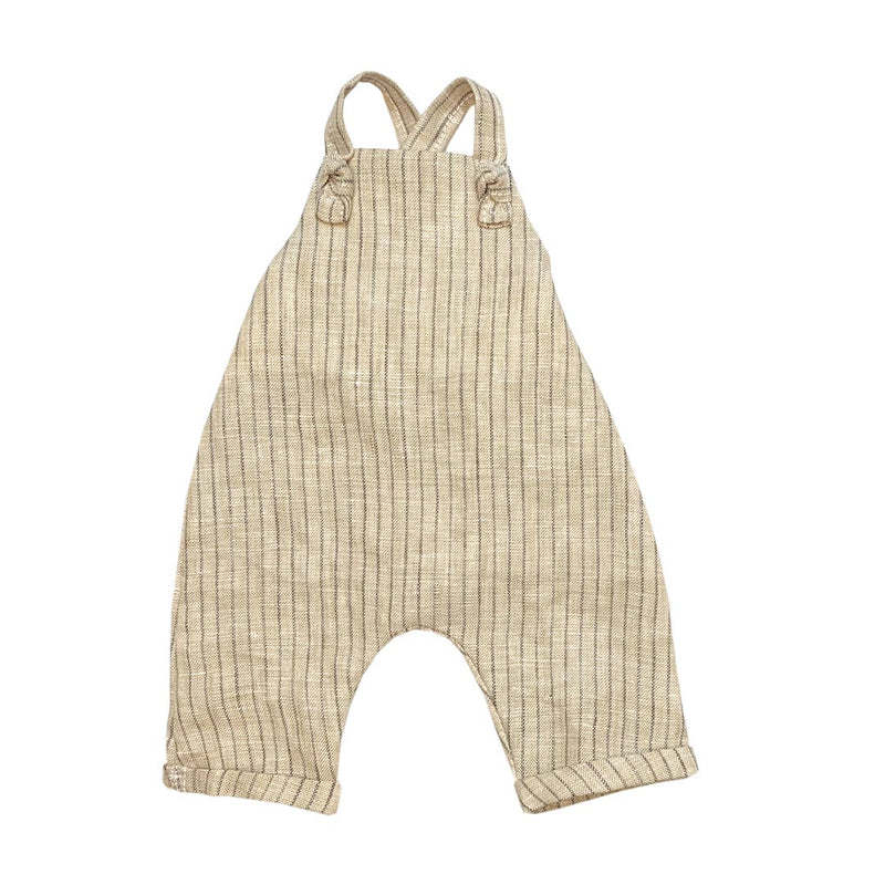 Slouchy Linen overalls