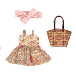 Floral Sweetheart Dress set