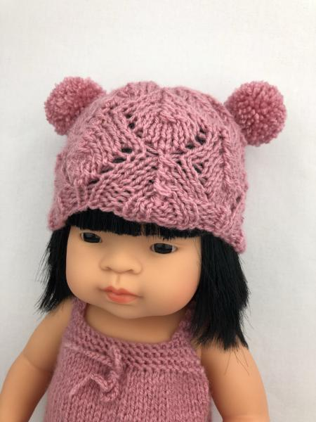 My Mini Boo Double Pom Pom Beanie