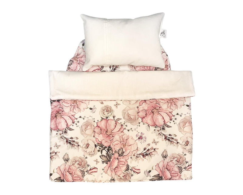 Dolls bedding- Rose