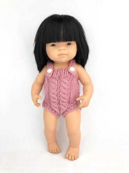 My Mini Boo Cable Knit Romper