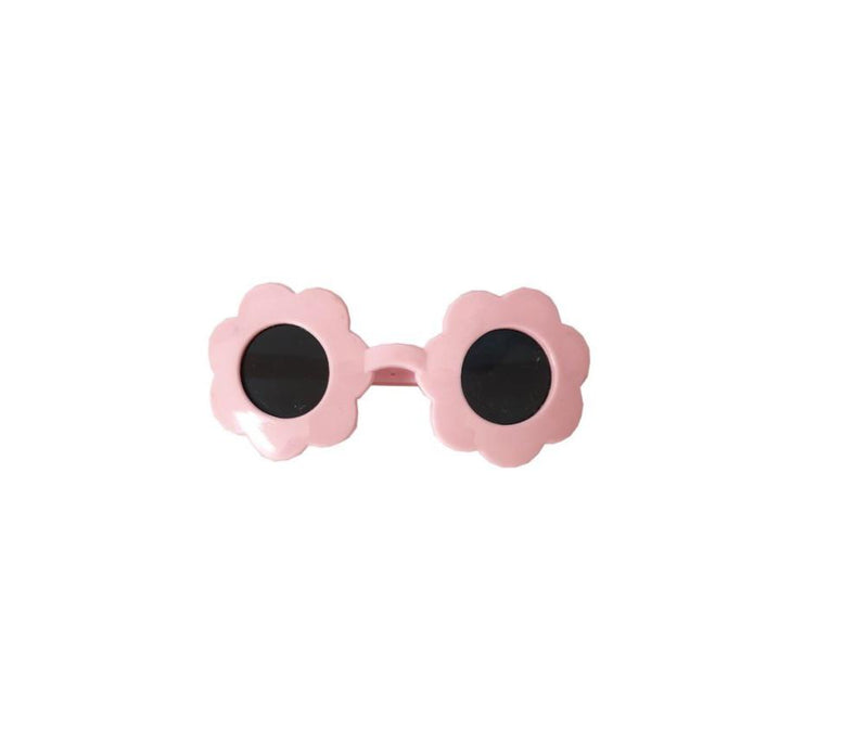 Pale Pink Flower Sunglasses