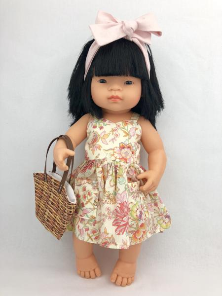 My Mini Boo Floral Sweetheart Dress set