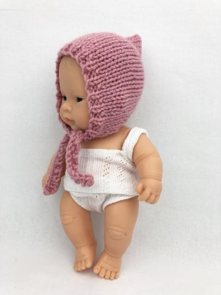 My Mini Boo Knitted Pixie Bonnet