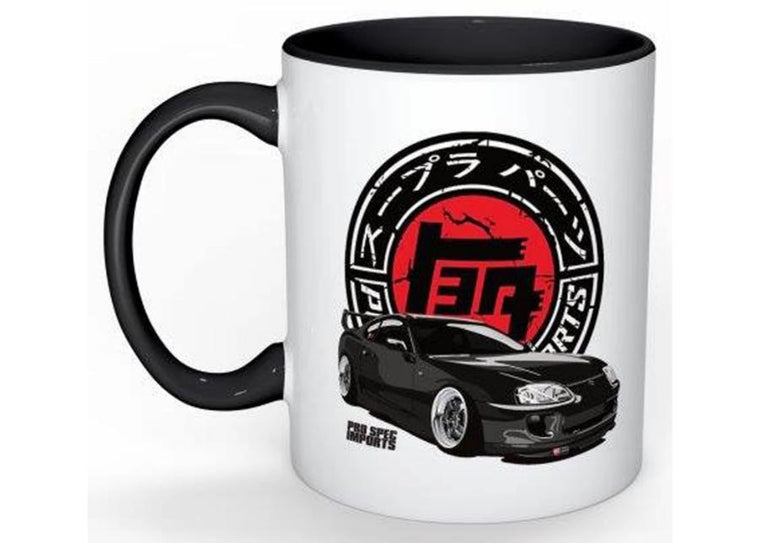 Old School Japan Supra Logo Mugs