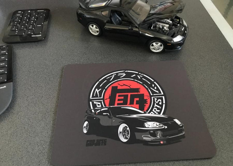 Old School Japan Supra Logo Mouse Pad