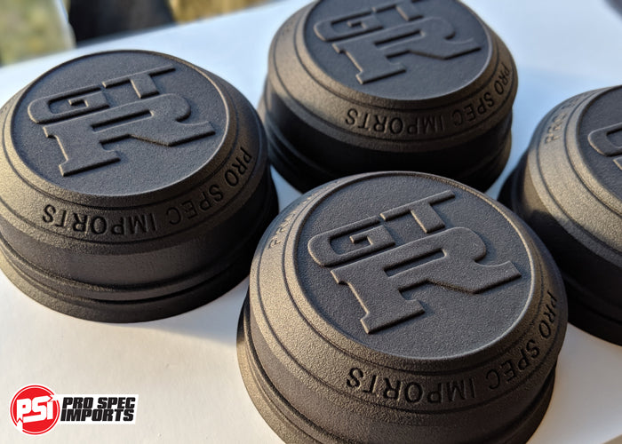 Rays TE37SL Centre Caps - GTR Skyline Specific Hubcentric Locating