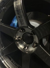 Rays TE37SL Centre Caps - Supra Specific Hubcentric Locating